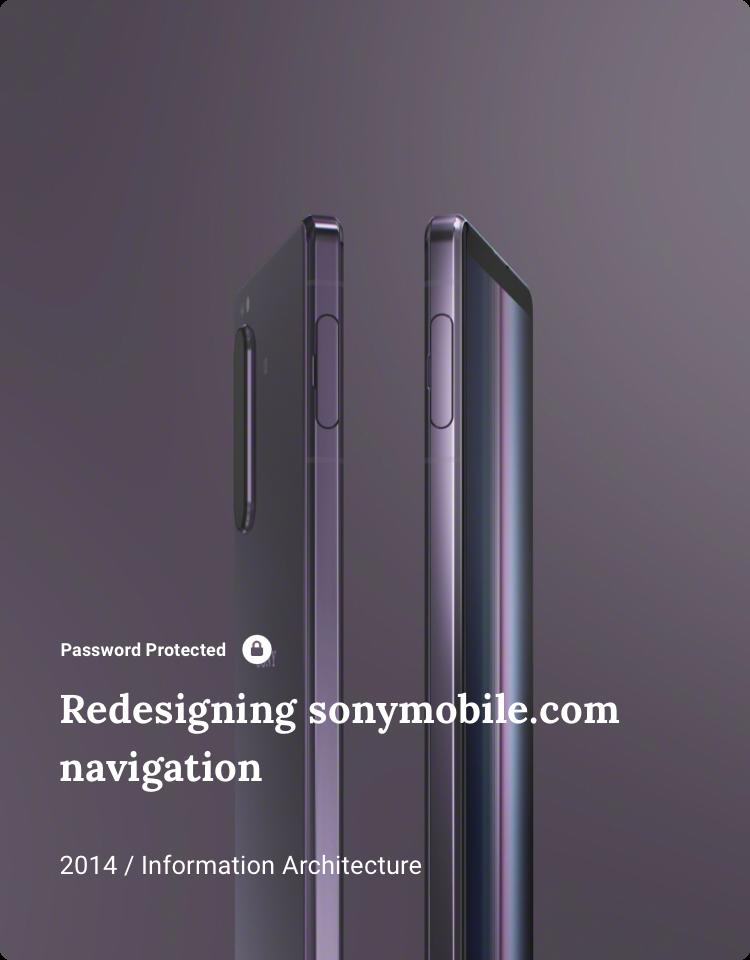 Redesigning Navigation